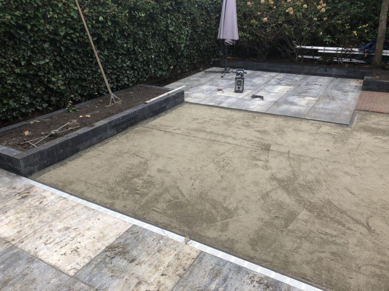 Ondergrond voor kunstgras gereed