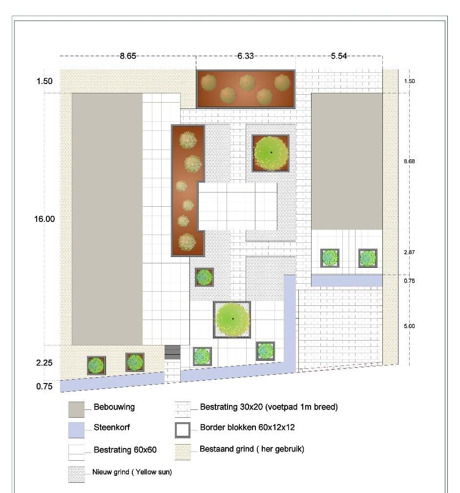 tuinontwerp Nispen en Roosendaal